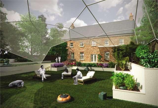 Les jardins du futur - Source : Husqvarna