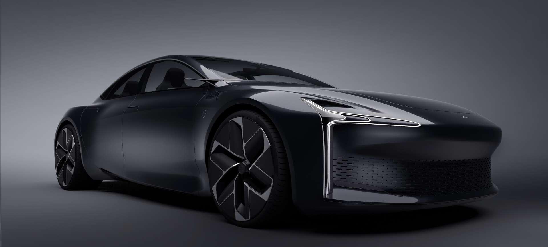 La Hopium Machina sera dévoilée sous forme de prototype l'année prochaine. © Hopium
