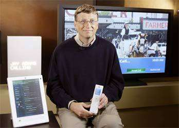 Le Windows Home Concept présenté par Bill Gates.