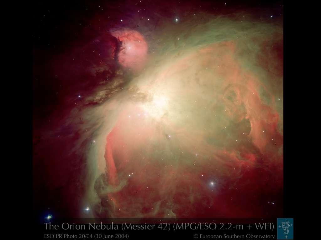 La nébuleuse d'Orion.