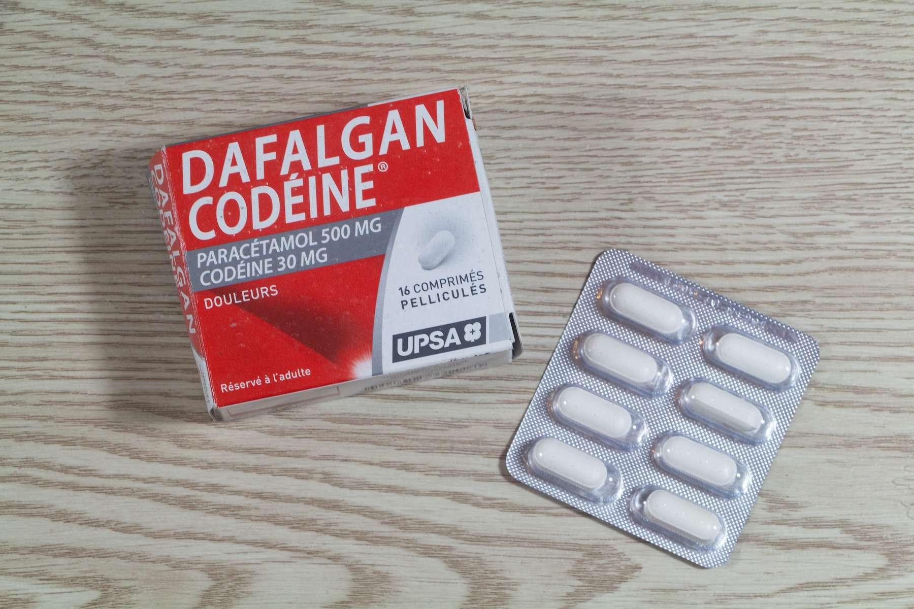 La codéine est un antalgique opiacé qui présente un risque élevé d'intoxication. © oceane2508, Adobe Stock