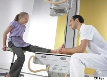 La radiographie repose sur l'utilisation des rayons X. © Philips