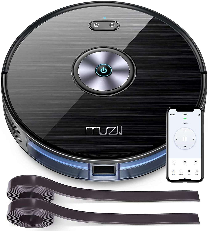 Bon plan : le robot aspirateur laveur Muzili © Amazon