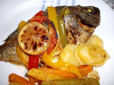 Du poisson pour un Noël gourmand sans cholestérol. © recettes-cuisine-asmaa.com