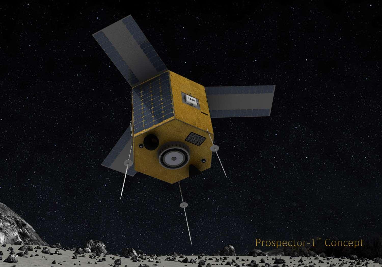 Prospector-1, le premier satellite de Deep Space Industries à rejoindre un astéroïde. Un rendez-vous prévu au tout début de la prochaine décennie. © Deep Space Industries