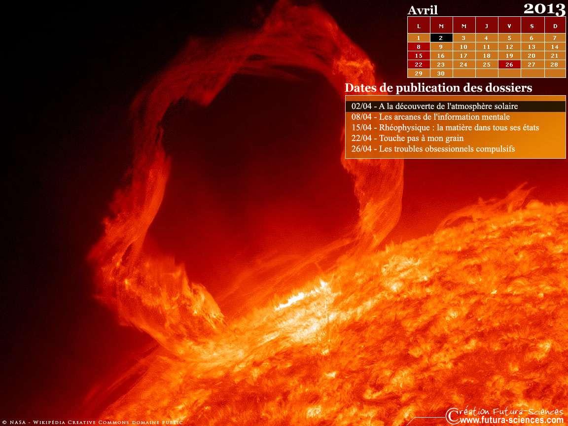 Les dossiers du mois d'avril sur Futura-Sciences. © Futura-Sciences
