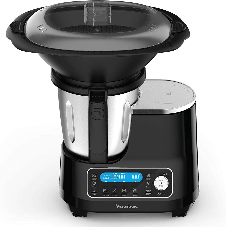 Soldes d'été Amazon : le robot cuiseur Moulinex Clickchef à seulement 279,98 €