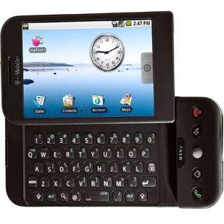 Le G1, smartphone luxueux et doté des derniers perfectionnements. © T-Mobile