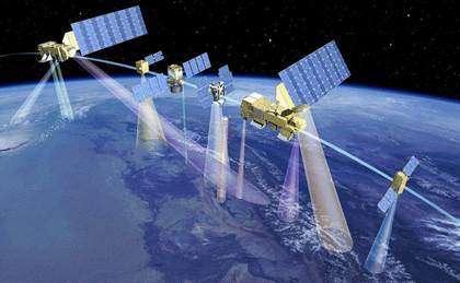 Le A-Train, un laboratoire météorologique spatial(Crédits : CNES)