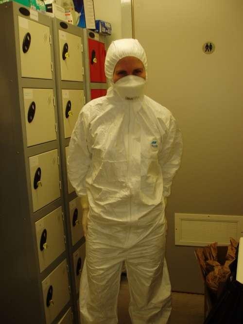 Sarah Stewart Johnson en costume de travail. © Sarah Stewart Johnson