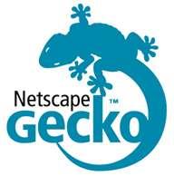 Le Gecko, un moteur de rendu, très utilisé, notamment sur Firefox, mais aussi Picasa, et même le défunt navigateur Netscape. © Netscape