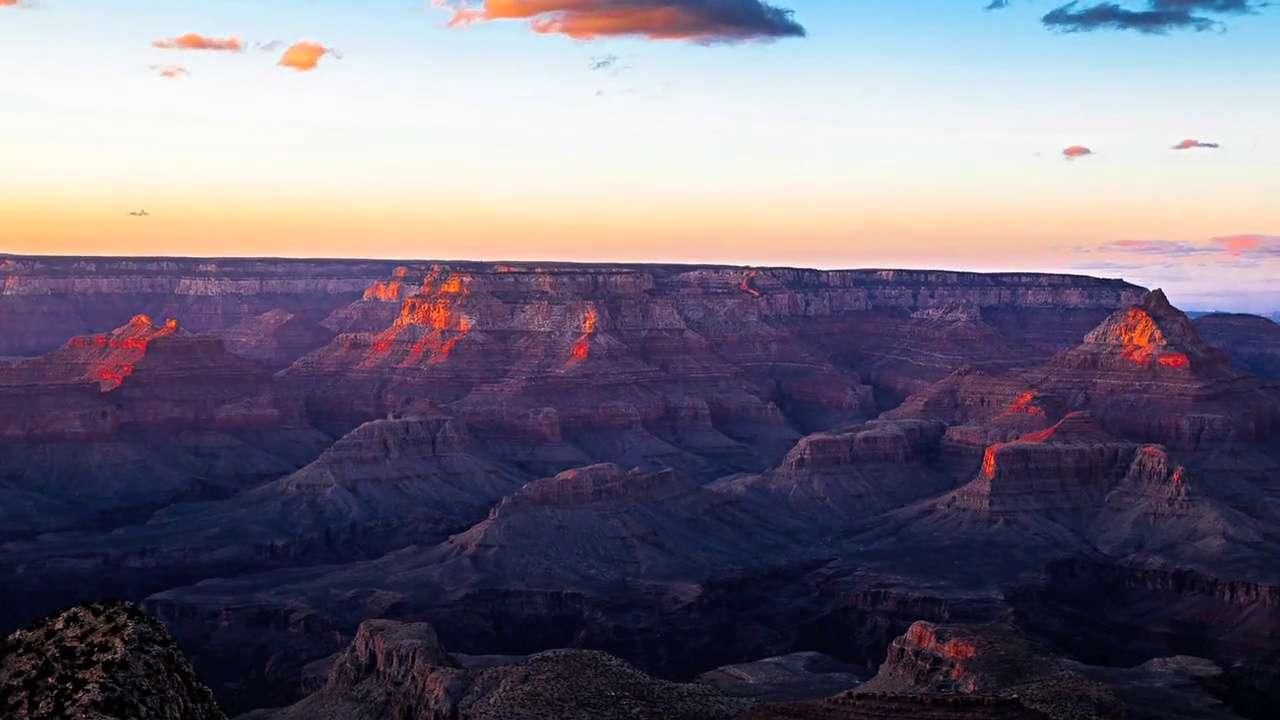 Time-lapse : immersion dans les paysages nocturnes du Grand Canyon