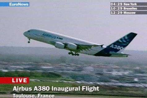 En bref : Décollage de l'A380 - MAJ