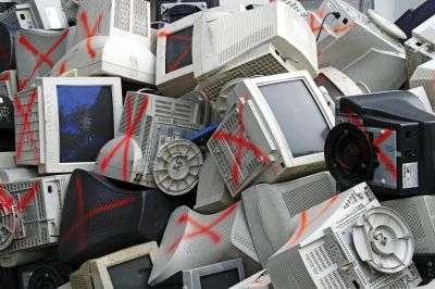 En France, chaque habitant produit entre 14 et 24 kg de déchets électroniques par an. © Gwoeii/shutterstock.com