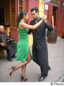 Le tango est une danse idéale pour la santé. © Phovoir