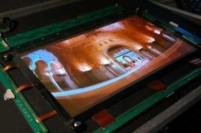 Un écran imprimé !