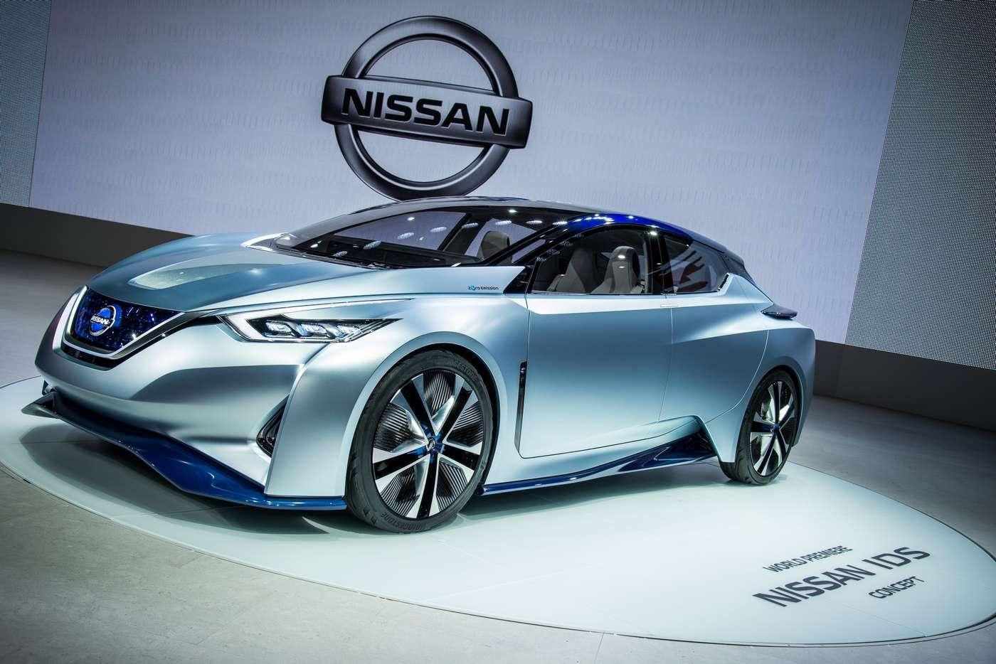 La Nissan IDS a été dévoilée au salon automobile de Tokyo. Ce concept-car n'a pas vocation à être commercialisé. © Nissan