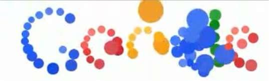 Explosion de bulles, le 7 septembre 2010, pour le logo de Google...