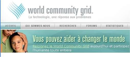 Le World Community Grid regroupe plusieurs projets mais il y a d'autres opérations de calcul partagé.