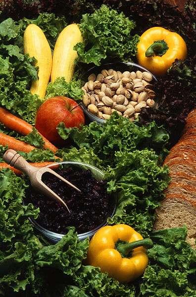 Dans le cadre de repas variés, être végétarien n'apporte pas de carence, excepté en fer. Crédits DR.