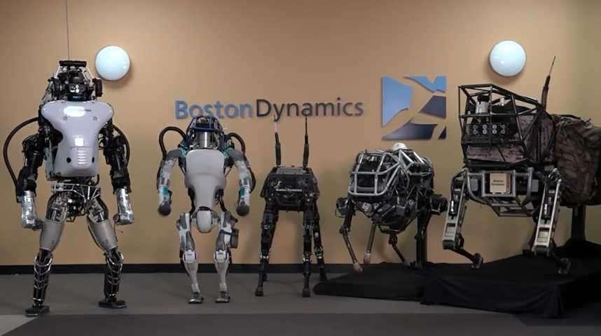 Robots Atlas : leur étonnante évolution