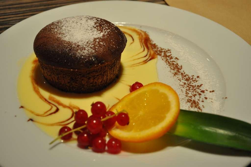 Impossible de résister à l'appel du fondant au chocolat… Des chercheurs ont montré que les lipides agiraient de la même manière que les drogues dans le cerveau. © Pablo Monteagudo, Flickr, cc by nc sa 2.0