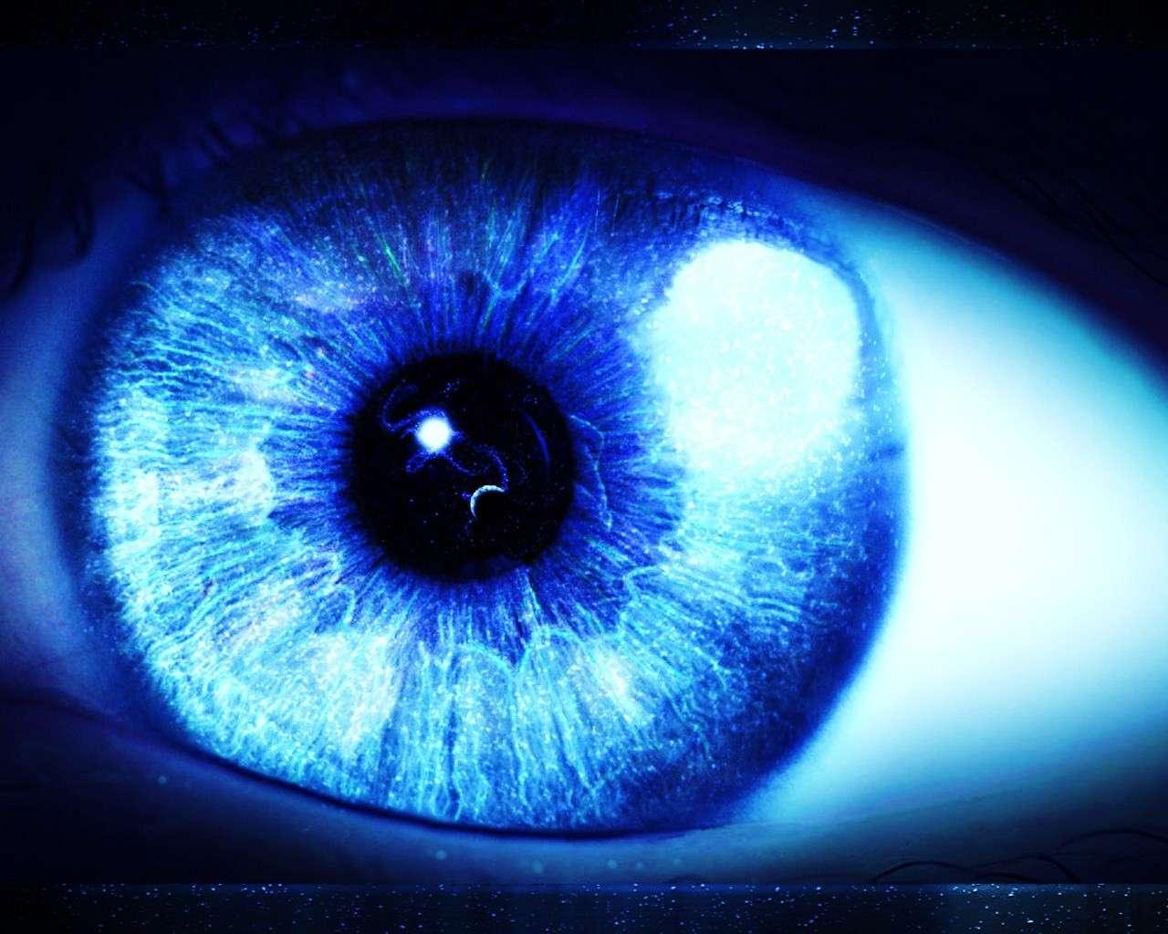 La maladie de Stargardt est une dystrophie maculaire d'origine génétique, conduisant progressivement à une forte baisse de l'acuité visuelle. © Senovan, deviantart.com, cc by 3.0