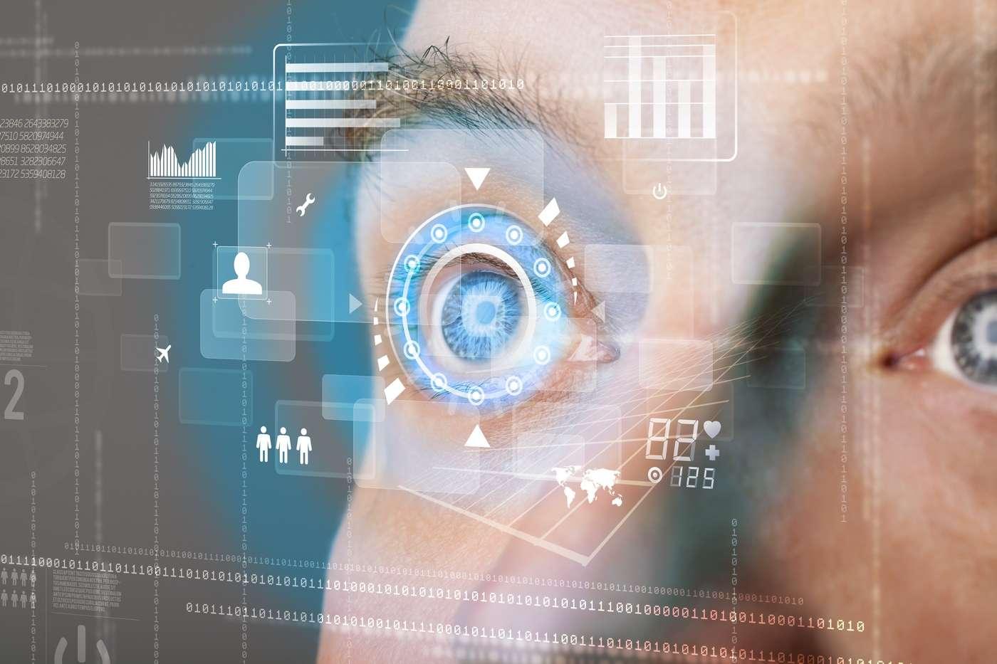 La détection du regard pour piloter des interfaces numériques n'est pas une nouveauté. Mais l'approche des chercheurs de l'université de Lancaster mise sur les mouvements oculaires pour proposer un fonctionnement plus ergonomique. © Ra2studio, Shutterstock