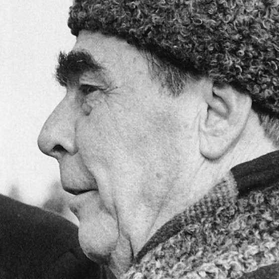 Léonid Brejnev a été à l'initiative d'une doctrine contre le Printemps de Prague. © Wikimedia Commons, DP