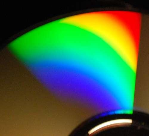Le spectre lumineux d'une ampoule à incandescence, dont l'IRC est proche de 100. © Jason-Morrison CC by-nc 2.0