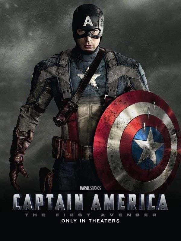 Une affiche de Captain America : First Avenger. © Paramount Pictures France