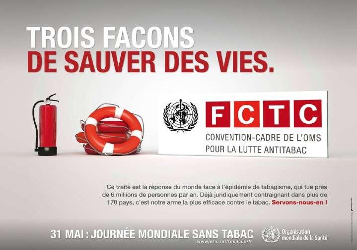 L'une des premières causes de décès dans le monde, le tabagisme, peut être combattue. © OMS