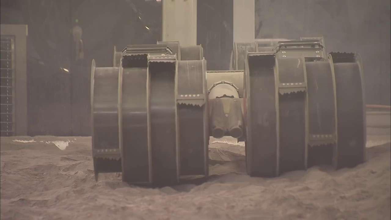 Rassor, le nouveau robot de la Nasa pour exploiter les ressources de Mars