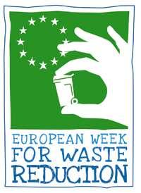 Le logo officiel de la « Semaine Européenne de la Réduction des Déchets ». Une semaine européenne pour faire connaître les stratégies de réduction des déchets et la politique de l'Union européenne, promouvoir des actions durables de réduction des déchets à travers l'Europe et mettre en évidence le travail accompli par les divers acteurs.