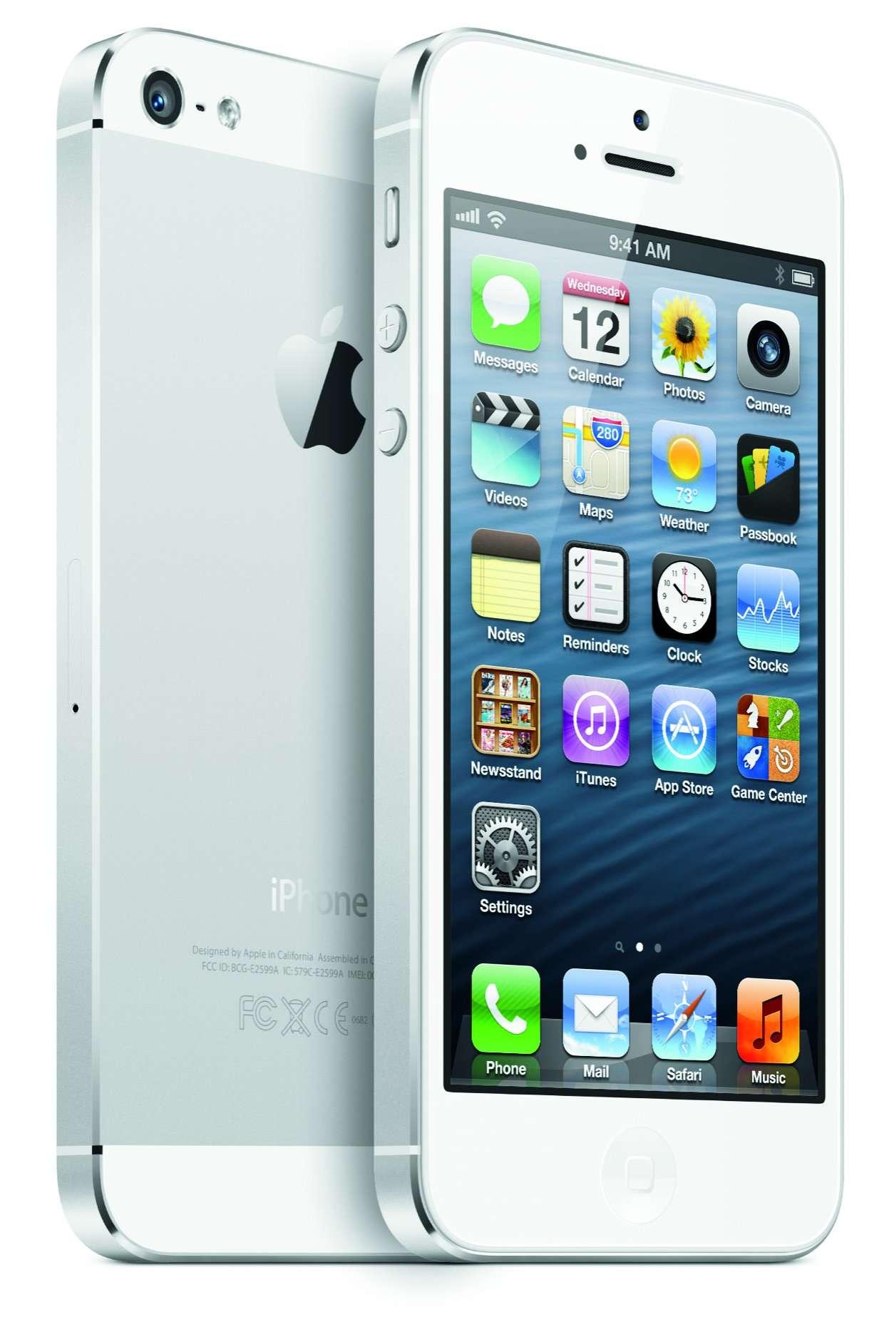 Pour la 4G, l'iPhone 5 est calé sur les fréquences nord-américaines mais pas sur celles utilisées en Europe. © Apple