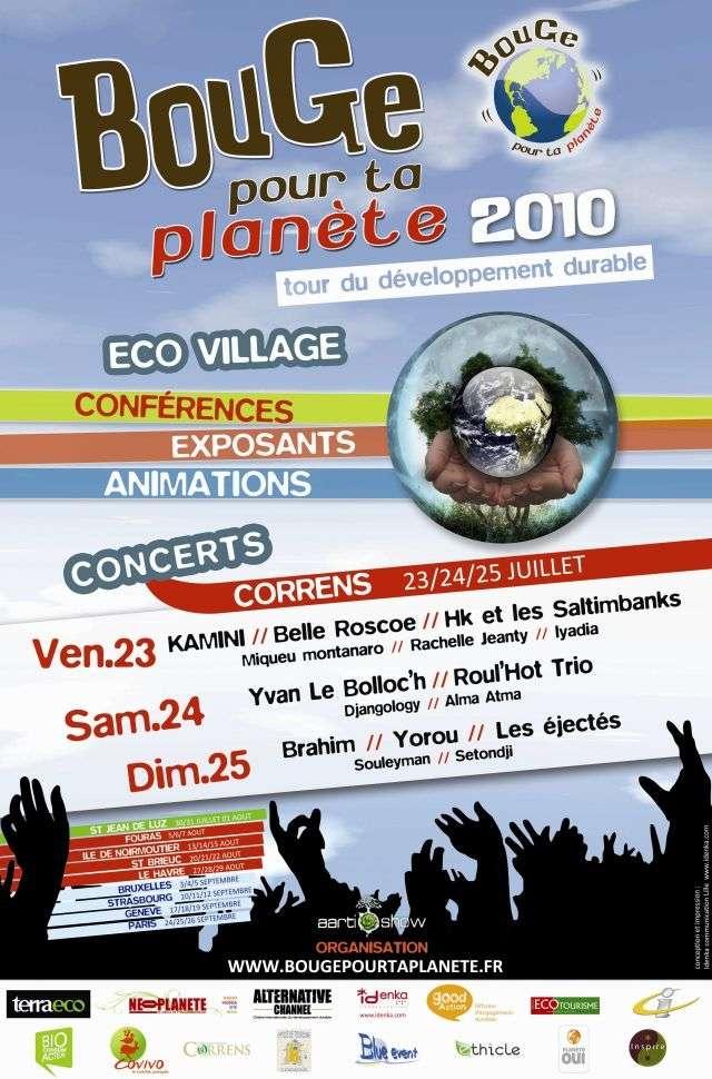 """La première édition du festival """"Bouge pour ta planète"""" démarre demain à Correns, dans le Var. Crédits DR."""