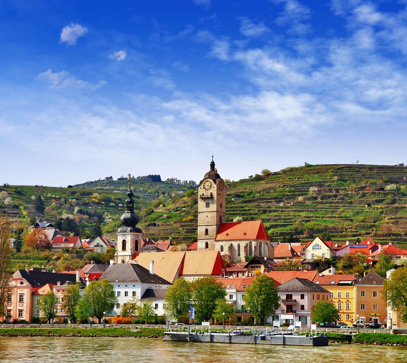 À l'ouest du pays, l'État fédéré de Basse-Autriche est le plus étendu. © leoks/shutterstock.com