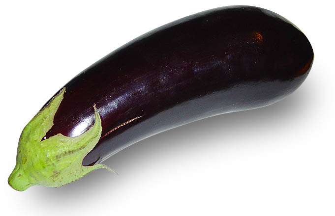 L'aubergine est un fruit riche en vitamines. © Wikimedia Commons
