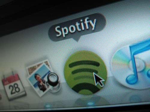 Spotify, une offre de streaming légale.