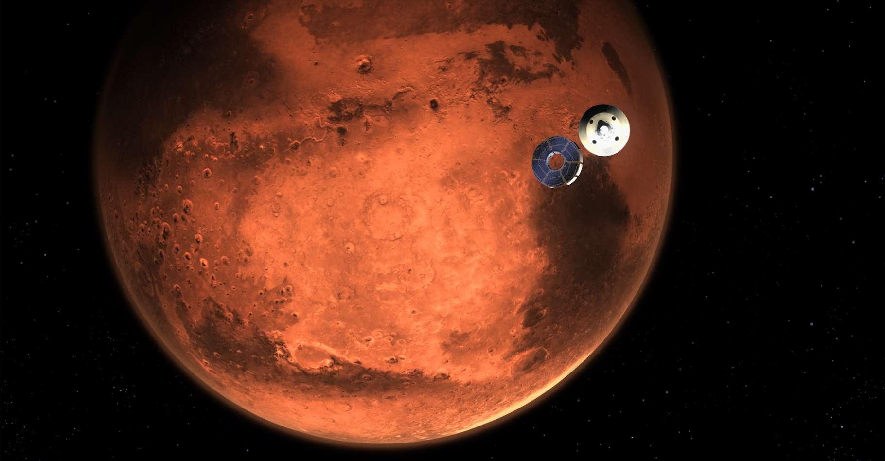 Perseverance arrive sur Mars ! © Nasa, JPL-Caltech