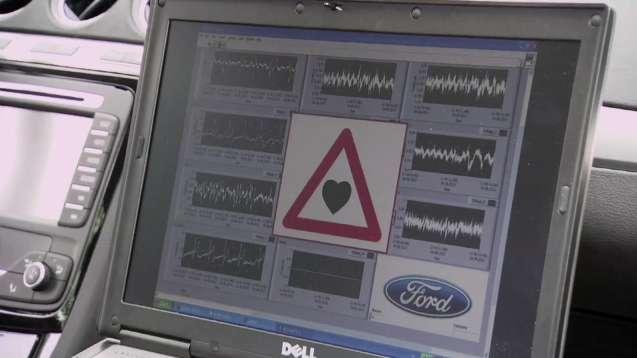 Le siège stéthoscope © Youtube (capture de la vidéo mise en ligne par Ford)
