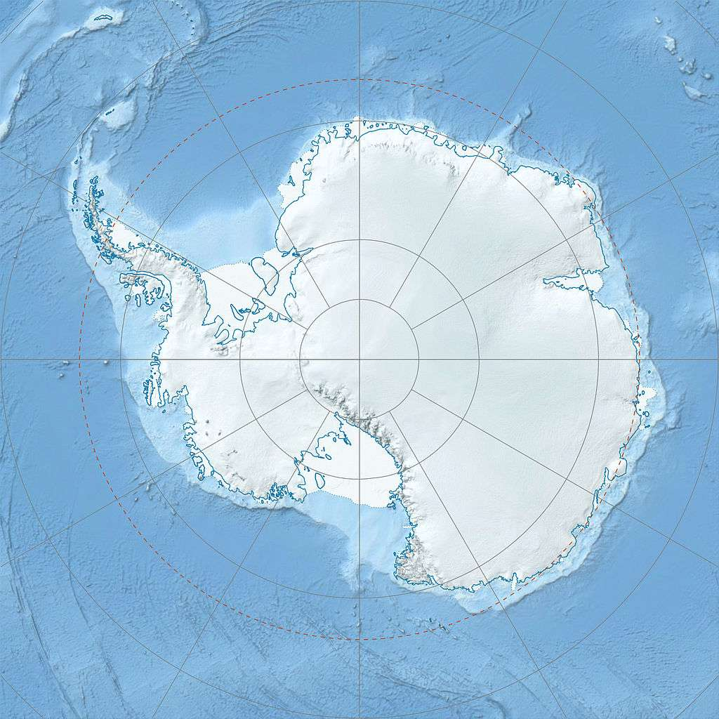 Le climat de l'Antarctique dépend d'une ceinture de vents qui en fait le tour. Et ceux-ci n'ont pas été aussi violents depuis au moins 1.000 ans, si ce n'est bien plus encore ! © Alexrk2, Wikipédia, cc by sa 3.0