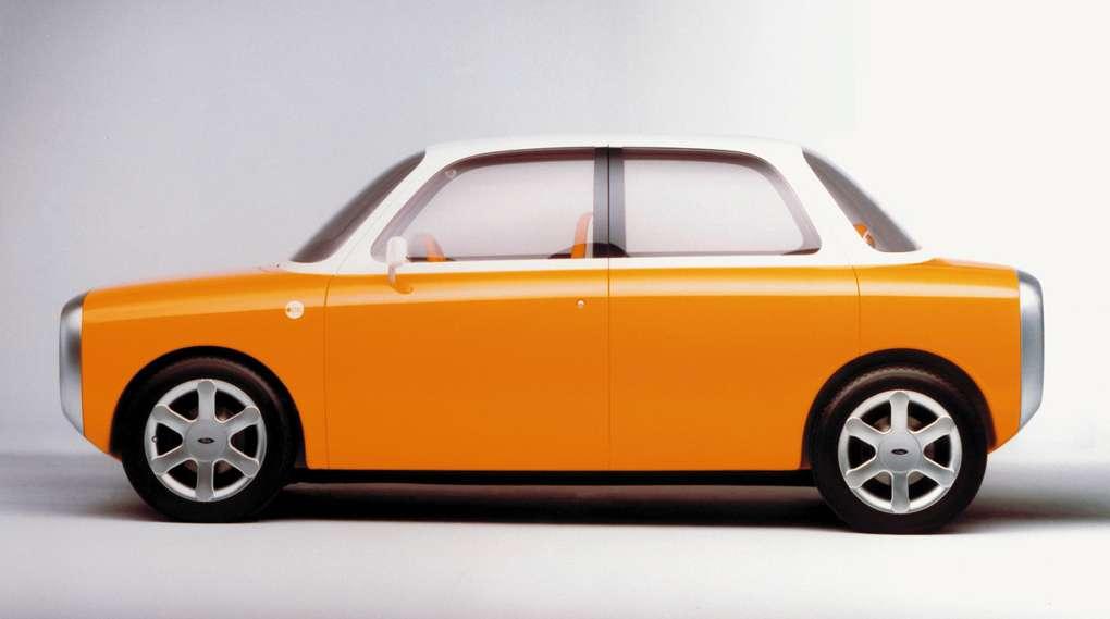 Ceci n'est pas une photo volée de la supposée « iCar » d'Apple, mais un concept imaginé par le designer Marc Newson pour Ford. Or, ce dernier a été recruté l'année dernière par Apple… © Marc Newson