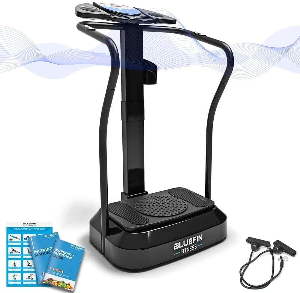Bon plan : la plateforme vibrante Pro Bluefin Fitness © Amazon
