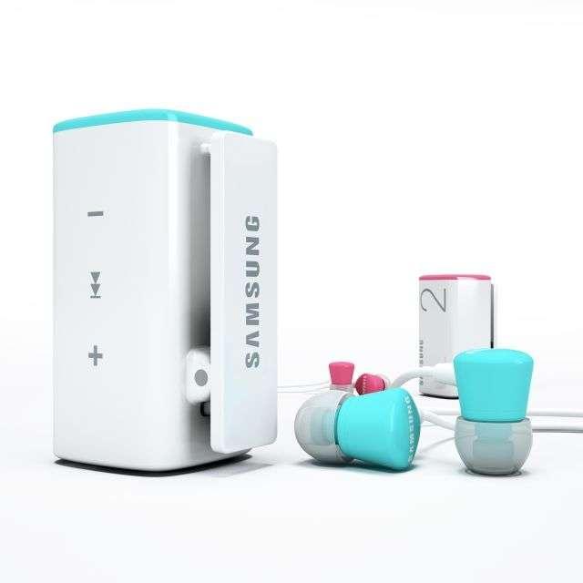 Samsung TicToc : un mini baladeur MP3 à secouer. Crédits Samsung
