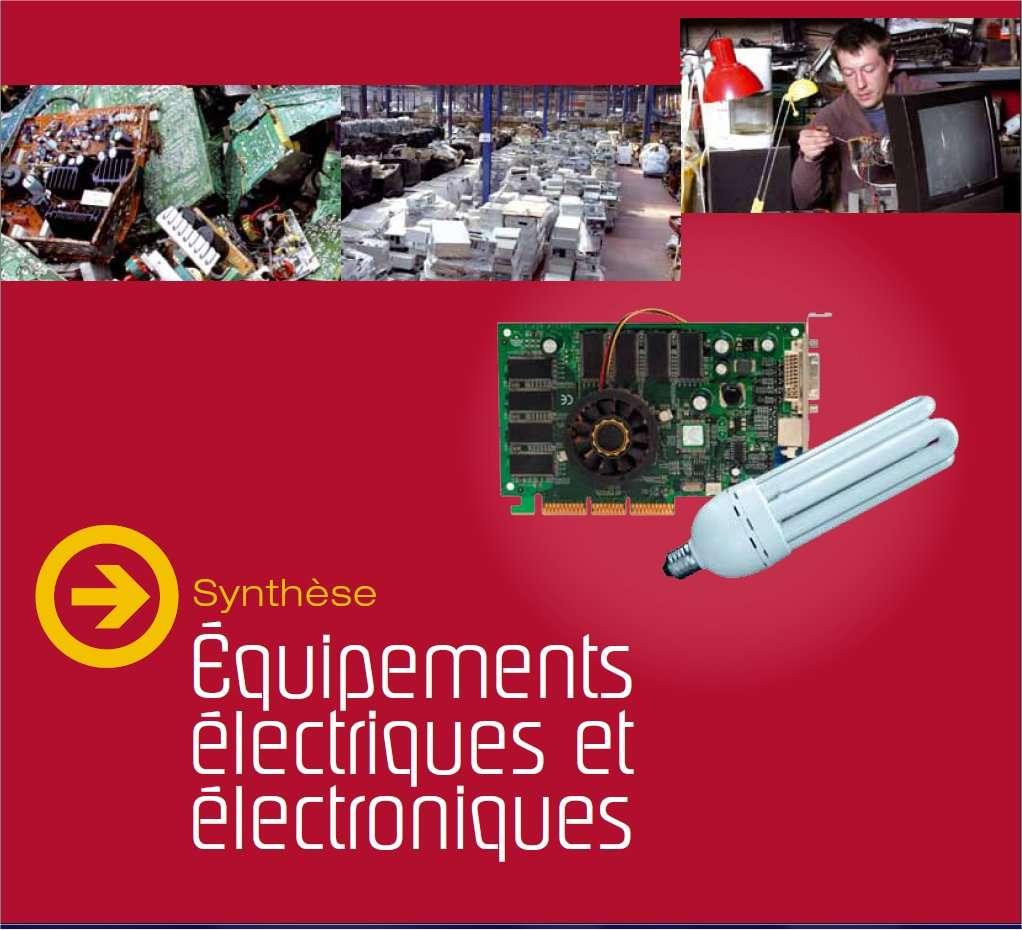 Les déchets ménagers électriques ou électroniques sont de plus en plus nombreux et de plus en plus variés. Chaque année, les Français en produisent 1,6 million de tonnes, soit 25 kilos par habitant. © Ademe