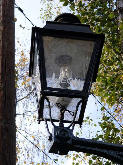 Un bec de gaz est la partie d'une lampe qui permet d'éclairer une zone en utilisant le gaz comme énergie. © Mathieu Marquer, CC BY-SA 2.0, Flickr