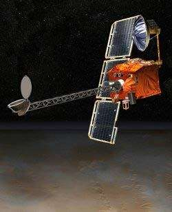 L'orbiteur Mars Odyssey.crédit : JPL/NASA