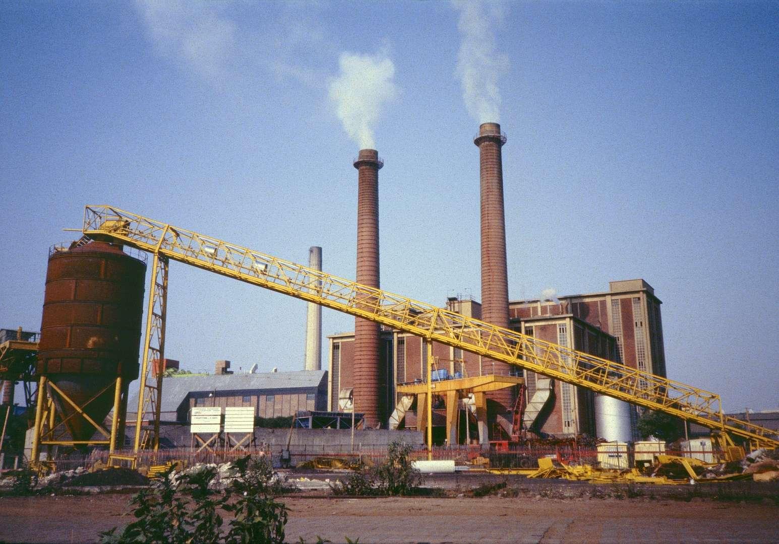 L'ancienne usine d'incinération d'ordures ménagères de Saint-Ouen (Seine-Saint-Denis). © Didier Duforest, Flickr, CC by-sa 2.0