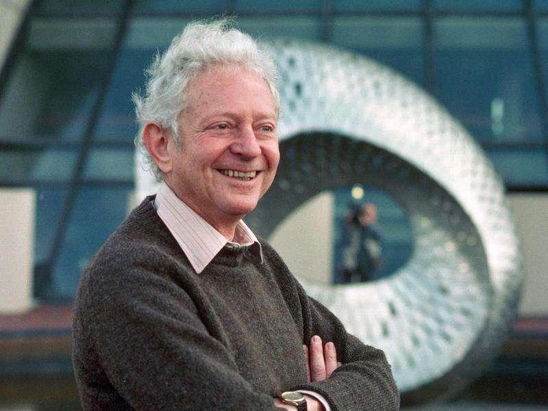 Leon M. Lederman, le prix Nobel de physique, codécouvreur du neutrino muonique. © Fermilab